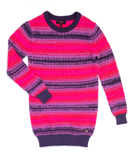 JUICY COUTURE KIDS – Παιδικο φορεμα JUICY COUTURE KIDS πολυχρωμο 07a6d4a1369