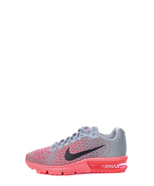 new style e0a84 701bc NIKE – Παιδικα αθλητικα παπουτσια NIKE AIR MAX SEQUENT γκρι-κοκκινα