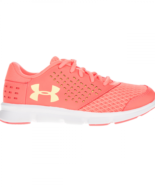 4ee1675e7f7 UNDER ARMOUR – Κοριτσιστικα αθλητικα παπουτσια UNDER ARMOUR GPS Rave RN  πορτοκαλι